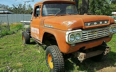Ford hot rod f truck v8 diesel 4x4