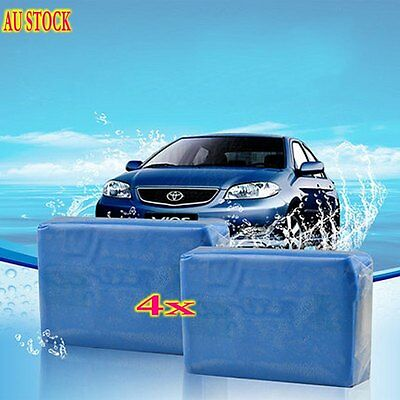 4 X Magic Truck Auto Vehicle Car Clean Clay Cleaning Soap Detailing Cleaner SH