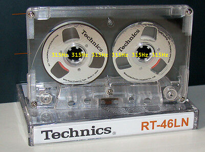 "Souvenir Reel to Reel ""Technics"" Silver cassette tape self-made !"