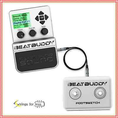 Singular Sound BeatBuddy Drum Machine Guitar Pedal with Beat Buddy Footswitch