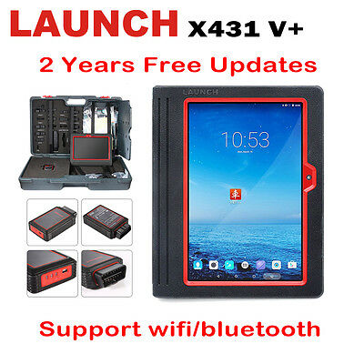 2017 Global Version Launch X431 V+ Auto ScanPad Diagnostic Tool Scanner Tablet