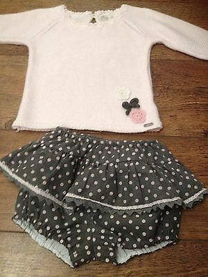 dolce petit Spanish Romany  Age 24 Months Jam Pants Jumper And Frilly Vest