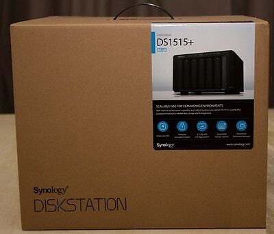 Synology DiskStation DS1515+ 5-Bay NAS with 5 x 6TB WD Red Pro (30 TB)