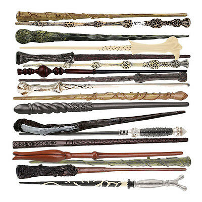 Cosplay Hogwarts Harry Potter Replica Magic Wand with Christmas Halloween Gift