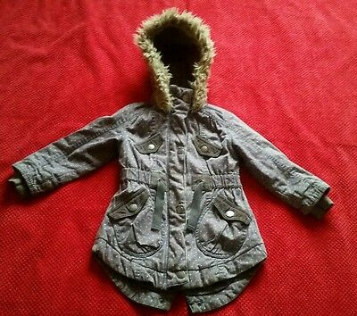 Next Girls Winter Coat - 3-4 Years
