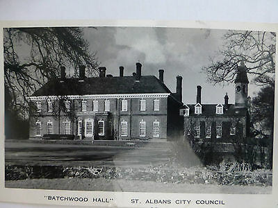 St Albans City Council / Batchwood Hall - Old Hertfordshire Postcard