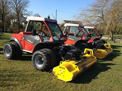 Aebi Tractor And Reform Metrac Hire, Flail Mower