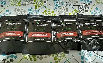 Absolute Wilderness Freeze Dried Meals