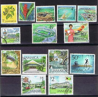 Jamaica 1972 SS Pictorial Issue - Used