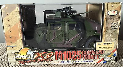 21st CENTURY TOYS 1:18 ULTIMATE SOLDIER M1025 HUMVEE COMMAND VEHICLE ~ EXCELLENT