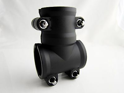 """T-Clamp for 1 1/2 inch (1.5"""") Poles / T-Joint Clamp / Drum Rack T Clamp"""