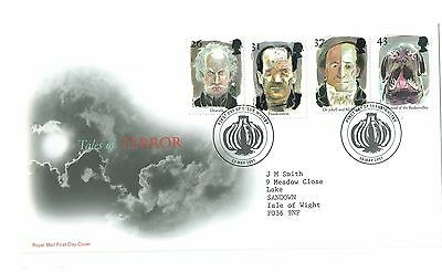 Gb  Royal Mail First Day Cover Of Tales Of Terror 1997