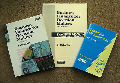 Business Finance for Decision Makers