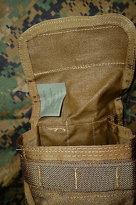 US Pre MSA Paraclete Hydration Molle Pouch Tasche Coyote no Camelbak Rucksack