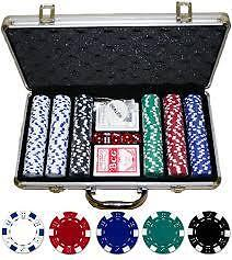 Poker Set - 300 Piece Complete With Casino Style Case