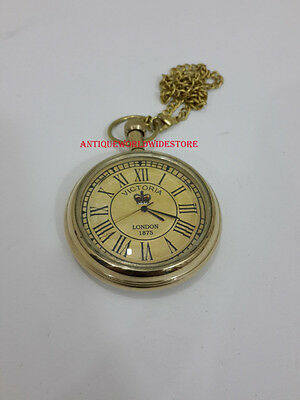Vintage Victoria London 1875 Pocket Watch