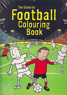 Football Colouring Book BRAND NEW BOOK by Kirsteen Rogers (Paperback, 2010)