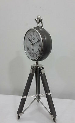Vintage Camp hill & Co. 1795 Decorative Beautiful Table Clock With Tripod