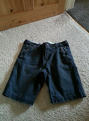 Boys Abercrombie and fitch chino shorts 13-14 years