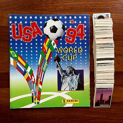 Álbum Empety World Cup Usa 94 Panini 444 Stickers Completo