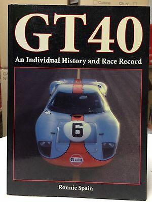 R. Spain : Gt40 An Individual History And Race Record (Motorbooks) Collector