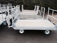 Baggage trailer 7 x 4