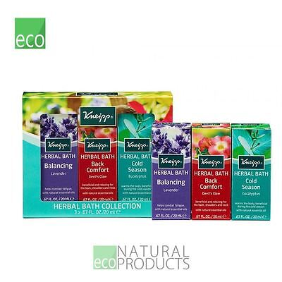 Kneipp Herbal Bath Collection (3pc x 20ml)
