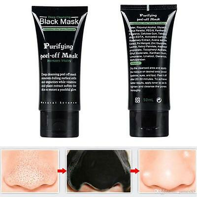 50ml Blackhead Remover Purifying Peel Off Cleaning Black Face Mask Facial-fst pp