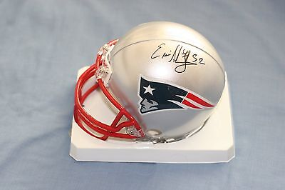 New England Patriots Eric Alexander Signed Autographed Riddell NFL Mini Helmet