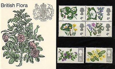 Post Office Presentation Pack Of British Flora 1967