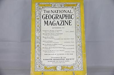 The National Geographic Magazine September 1938