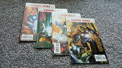 ULTIMATE COMICS ARMOR WARS #1,2,3,4 Complete (2009) MARVEL LIMITED SERIES