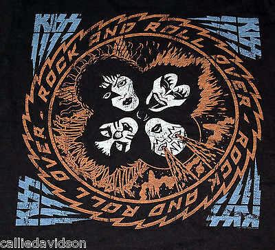 KISS Rock And Roll Over City Of Hope Charity T-Shirt Size Large 2011 Gene Ace