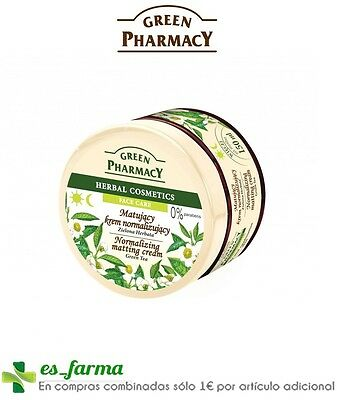 Green Pharmacy Te Verde Crema Matificante Piel Grasa 150Ml Green Tea Oily Skin