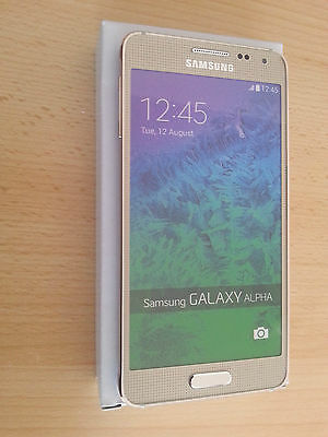 Samsung Galaxy Alpha in Gold  Handy Dummy Attrappe (ohne Funktionen!)