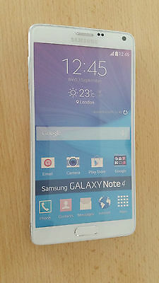 Samsung Galaxy Note 4 in Weiß  Handy Dummy Attrappe (ohne Funktionen!)