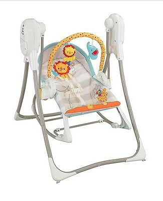 Fisher Price 3 In 1 Swing n' Rocker