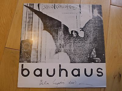 "Bauhaus, Bela Lugosi's Dead, original UK 1979 12"" single on Small Wonder"