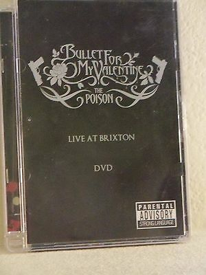 Poison, Bullet For My Valentine Dvd, Good Condition