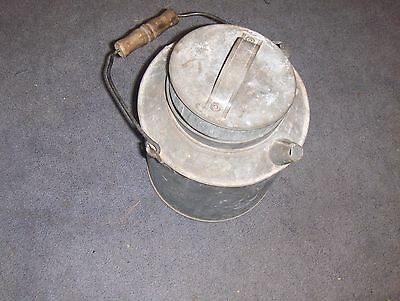 Estate Nickel Plate NY Chicago & St Louis Railroad Galvanized Water Oil Can