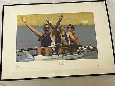 Official Limited Edition Team GB Matthew Pinsent Signed Print
