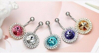 infOUK Neoglory Belly Piercing Body Jewelry Navel & Bell Button Rings