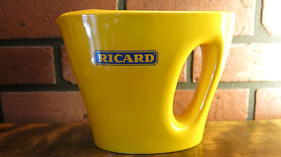 Yellow Ricard Pastis Ceramic 1L Pitcher / Anisette Pichet design by MARC NEWSON