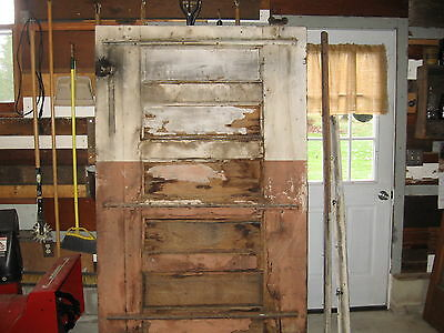 Antique Barn Door With Rollers
