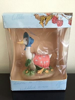New Boxed World Of Beatrix Potter Eaglemoss Figurine - Jemima Puddle-Duck