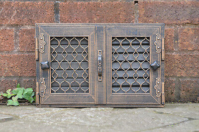 35 x 23 cm steel fire oven door range/pizza fireplace louver air vent air brick