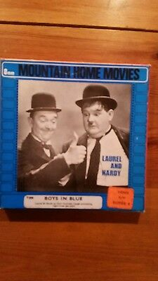 laurel and hardy super 8mm film. Black and white silent 200ft good condition.