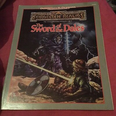 AD&D Forgotten Realms adventure - The Sword of the Dales - TSR 9484