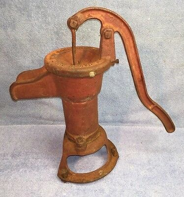Antique Davey Pump Corp Cast Iron Well Pump Original Paint EXC COND Great Patina