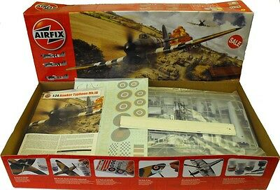 Airfix A19002 1/24 Scale Hawker Typhoon Mk1b Plastic Model kit